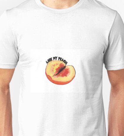 Lick my peach 2 Unisex T-Shirt