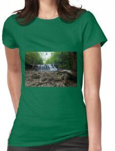 Brush Creek Falls Womens Fitted T-Shirt