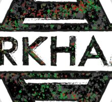 Arkham - DC Spray Paint Sticker