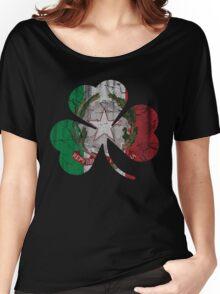 Irish Italian Heritage Shamrock Women's Relaxed Fit T-Shirt