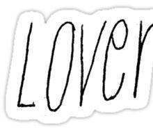 cat lover sticker  Sticker
