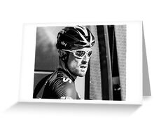 Bernhard Eisel (Team Sky) Greeting Card
