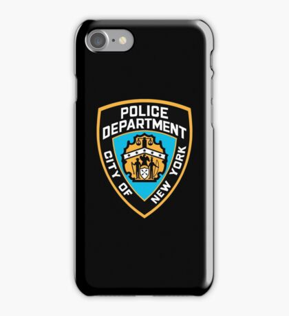 NYPD iPhone Case/Skin