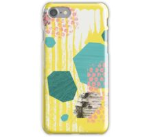 Texture / Rocks in Yellow iPhone Case/Skin