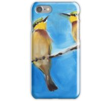 African Bee Eaters iPhone Case/Skin