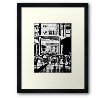 It Rains in Manchester Framed Print
