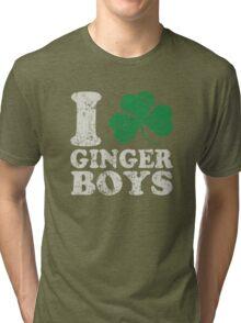 I Shamrock Ginger Boys Tri-blend T-Shirt
