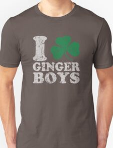 I Shamrock Ginger Boys T-Shirt