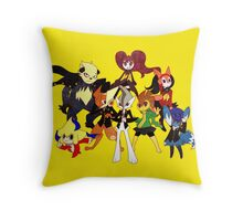 Personamon 4 Throw Pillow