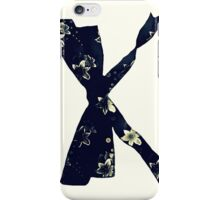 Floral bow iPhone Case/Skin