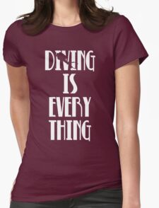 Diving is Everything (White) T-Shirt