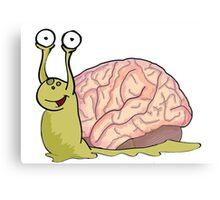 Snail Brains! Canvas Print