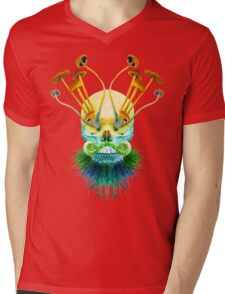 Psychedelic Shaman Mens V-Neck T-Shirt