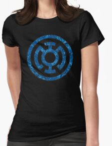 Lantern 5 - DC Spray Paint Womens Fitted T-Shirt