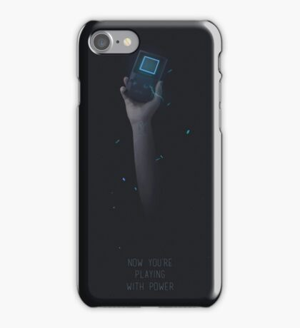 Now You're Playing With Power... iPhone Case/Skin