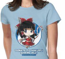 Touhou - Reimu Hakurei Womens Fitted T-Shirt