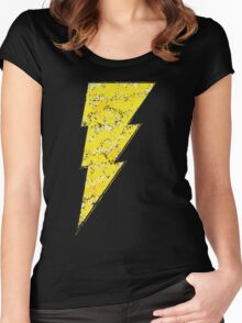 Black Adam - DC Spray Paint Women's Fitted Scoop T-Shirt