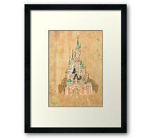 La Belle au Bois Dormant Framed Print