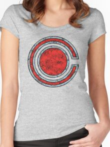 Cyborg - DC Spray Paint Women's Fitted Scoop T-Shirt