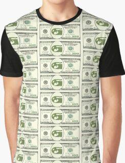 Bullet Bill Dollar Bill (Mario Parody) Graphic T-Shirt