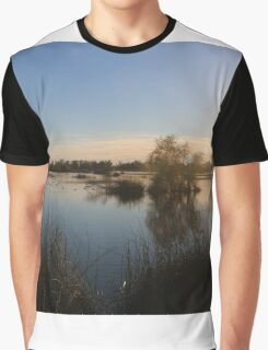 Beautiful Lake At Grey Lodge Graphic T-Shirt