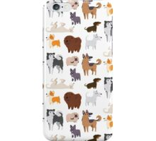 Dog Breeds Pattern iPhone Case/Skin