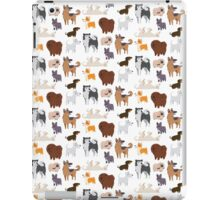 Dog Breeds Pattern iPad Case/Skin