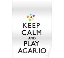 Agar.io KEEP CALM AND CARRY ON Poster