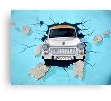 Graffiti Berlin Wall Canvas Print
