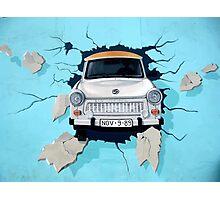 Graffiti Berlin Wall Photographic Print