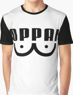 Oppai One Punch Man (Black) - Anime  Graphic T-Shirt