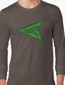 Green Arrow - DC Spray Paint Long Sleeve T-Shirt