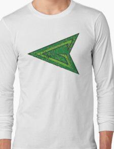 Green Arrow - DC Spray Paint Long Sleeve T-Shirt