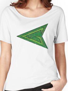 Green Arrow - DC Spray Paint Women's Relaxed Fit T-Shirt