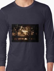 Trees at Dusk Long Sleeve T-Shirt