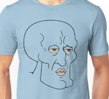 Gorgeous Squidward Unisex T-Shirt