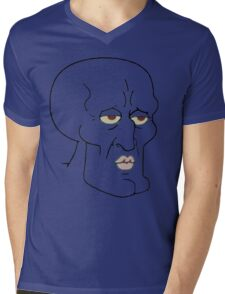 Gorgeous Squidward Mens V-Neck T-Shirt