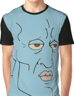 Gorgeous Squidward Graphic T-Shirt
