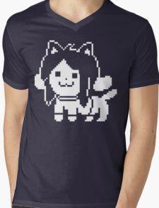 Temmie  Mens V-Neck T-Shirt