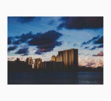 Sunset Over Buildings Kids Tee