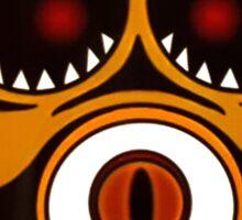 Demon Owl Sticker