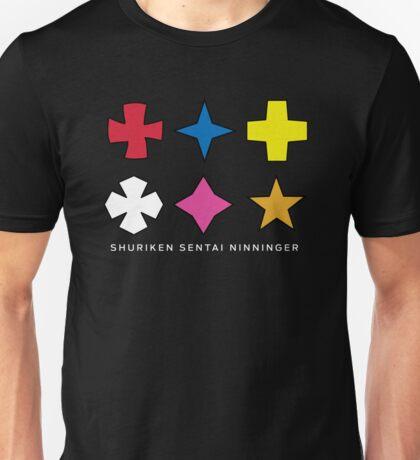 Ninninger Helmet Shurikens Unisex T-Shirt