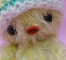 Handmade bears from Teddy Bear Orphans - Chickita the Chick Sticker