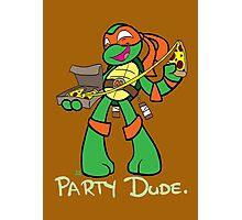Teenage Mutant Ninja Turtles- Michaelangelo Photographic Print