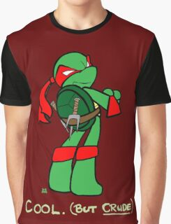 Teenage Mutant Ninja Turtles- Raphael Graphic T-Shirt