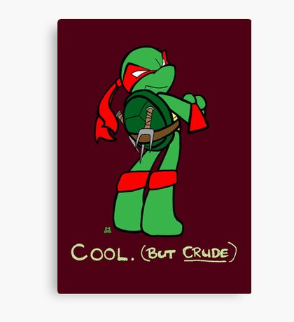 Teenage Mutant Ninja Turtles- Raphael Canvas Print