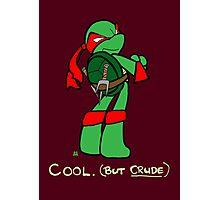 Teenage Mutant Ninja Turtles- Raphael Photographic Print