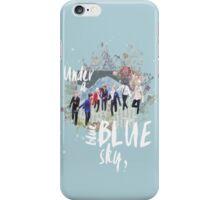 Under A Blue Sky iPhone Case/Skin