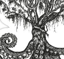 Octo-Tree Sticker