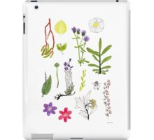 Herbarium / Herbier #2 iPad Case/Skin